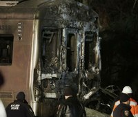 N.Y. commuter train slams into SUV on tracks, killing 7