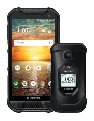 Kyocera's rugged smartphones are used by police forces across the country. (Photo/Kyocera)