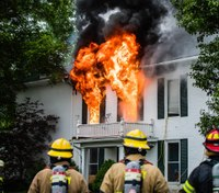 Coordination of suppression and ventilation in single-family homes