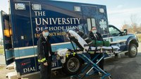 Students get invaluable experience with URI EMS