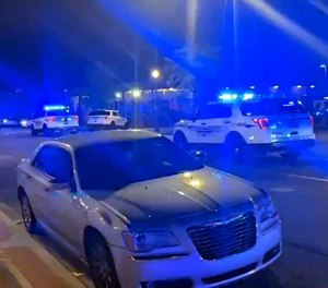 One person was killed and an off-duty police officer was injured in a shooting at a motorcycle club in Alabama, authorities said.
