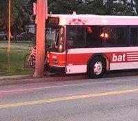 16 injured in Mass. crash after man attacks bus driver