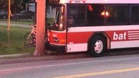 16 injured in Mass. crash after man attacks bus driver
