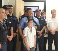 Texas boy, 8, named honorary EMT for helping dad after ATV crash