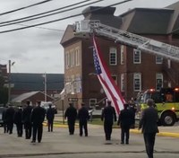 NJ FFs hold procession for former fire commissioner who died from COVID-19