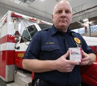Ohio city FD program leaves naloxone kits with patients