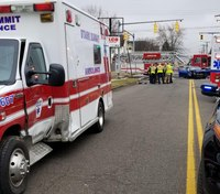 5 injured in Ohio ambulance collision with car