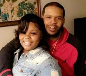 This undated photo shows Breonna Taylor and boyfriend Kenneth Walker. (Photo/New York Daily News via MCT)