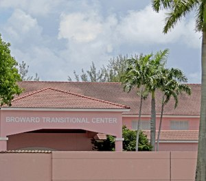 A view of the Broward Transitional Center.
