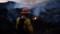 Arson suspect arrested in LA wildfire that forced evacuations