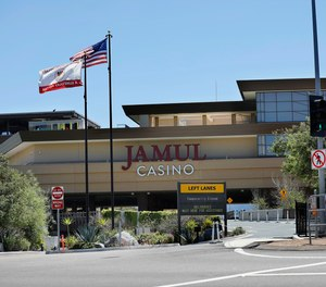 The Jamul Casino on the Jamul Indian Reservation, shown here on April 15, 2020.