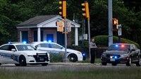 FBI: Armed man is shot dead outside CIA headquarters