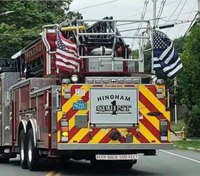 Mass. firefighters say they won't remove 'thin blue line' flags after chiefs' order