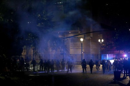 Portland passes resolution to limit actions of local police deputized as federal officers