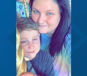 Supporters have raised enough money for Paramedic Kendall Whitaker to take time off work to be with her 5-year-old son Easton, who is immunocompromised and in hospice care due to congenital heart failure. Whitaker is quarantining for 14 days before reuniting with Easton.