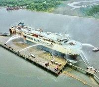Cargo ship blaze that injured 9 FFs extinguished