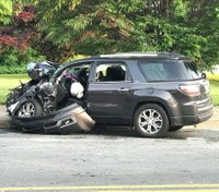 Driver, passengers sue over crash involving Pa. fire truck