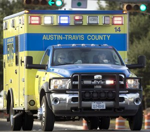 The proposal to create a new police dispatch code comes in the wake of survey results that showed that63% of Austin medics were physically assaultedmore than once on the job in the past two years. (Photo/Tribune News Service, Ralph Barrera, American-Statesmen)