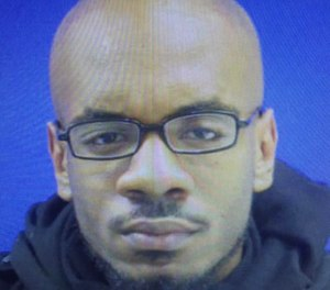 Christoper Clanton Sr. escaped from a hospital before booking. (Baltimore Police Department/TNS)