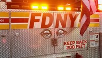 Boy, 7, in critical condition after being struck by FDNY apparatus