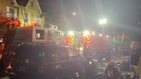 Pa. FF injured at rowhome fire