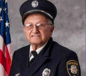 Firefighter Richard Ziegler died Saturday at age 83. He is believed to have been the last surviving responder to the Mohawk Airlines Flight 121 crash of 1963. (Photo/Daily Messenger)