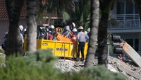 7 firefighters working at Surfside condo collapse test positive for COVID-19