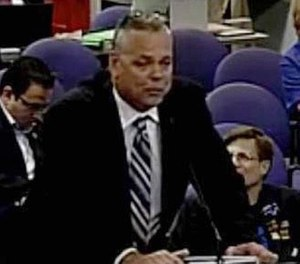Scot Peterson resigned as a Broward County Deputy on Feb. 22, 2018, after County Sheriff Scott Israel suspended him for inaction during the shooting at Marjory Stoneman Douglas High School. (Broward County Schools/TNS)