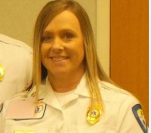 Lisa Gunn was hired as a basic EMT at the agency in 1991. (Photo/Tribune News Service)