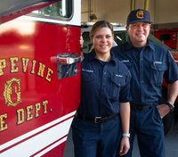 Life father, like daughter: Texas FD welcomes first father-daughter duo