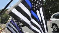Wis. university police chief bans 'thin blue line' flag