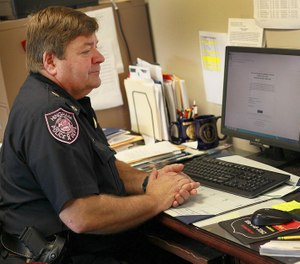 Hingham Police Chief Glenn Olsson has retired amid controversy over the Hingham Fire Department's flying of the