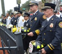 Jacksonville Fire and Rescue holds memorial for fallen members