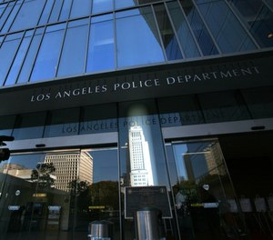 The Los Angeles Police Department's headquarters are shown in 2011.