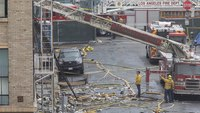 LAFD says it has no record of inspecting building where explosion injured 11 FFs