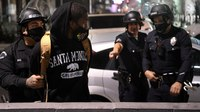 LAPD makes arrests, declares unlawful gatherings on Election night