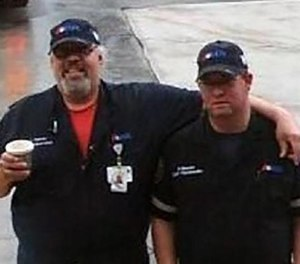 AMR Paramedics Lahiri Garcia, 51, (left) and Paul Besaw, 36, died in a rollover ambulance crash in Jupiter, Fla. in 2017. (Photo/Palm Beach Post File Photo)