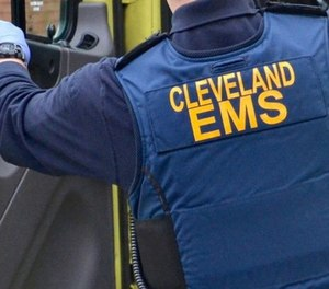 Cleveland EMS treated a man with