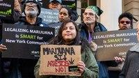 Policing protests propel marijuana decriminalization efforts
