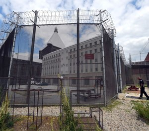 This Metropolitan Transition Center is where the inmates have been moved since the state shut down the Baltimore City Jail. (Photo/Lloyd Fox of Baltimore Sun via TNS)