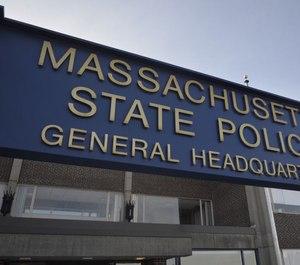 Massachusetts State Police headquarters.