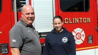 Mass. town hires its 1st female firefighter