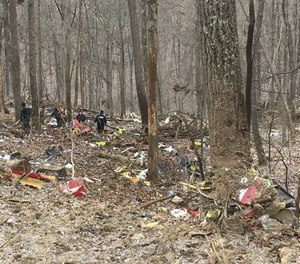 Three members of a medical flight were killed when the helicopter crashed on its way to pick up a patient in southeastern Ohio on Jan. 29. Employees had previously had concerns about being told to take flights in dangerous weather conditions, a new NTSB report reveals. (Photo/Ohio State Highway Patrol)