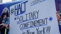 NY governor signs bill ending long-term solitary confinement