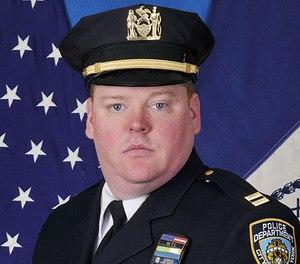 NYPD Deputy Inspector Denis Mullaney.