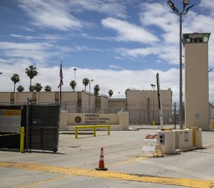 A view of the Federal Correctional Institute Terminal Island in San Pedro, Calif. (Photo/Allen J. Schaben of Los Angeles Times via TNS)