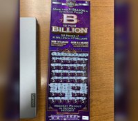 Suspect leaves behind winning lottery ticket while running from cops