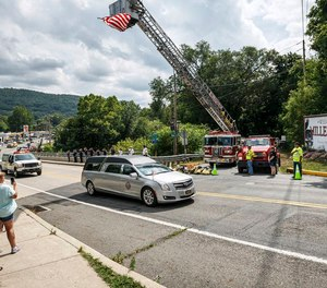 Halifax Firefighter Tyler A. Laudenslager was killed in July when he was struck while providing roadside assistance for his towing job. Pennsylvania senators have passed a bill imposing tougher penalties for motorists who fail to slow down or move over for first responders, tow truck drivers and others working on roadways.
