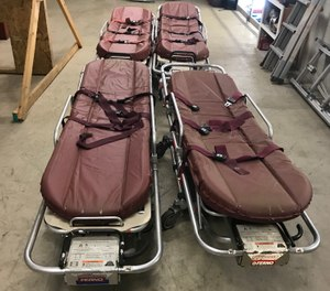 The Parma Fire Department had five old stretchers in storage. (Photo/Tribune News Service)