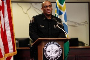Portland (Ore.) Police Chief Chuck Lovell
